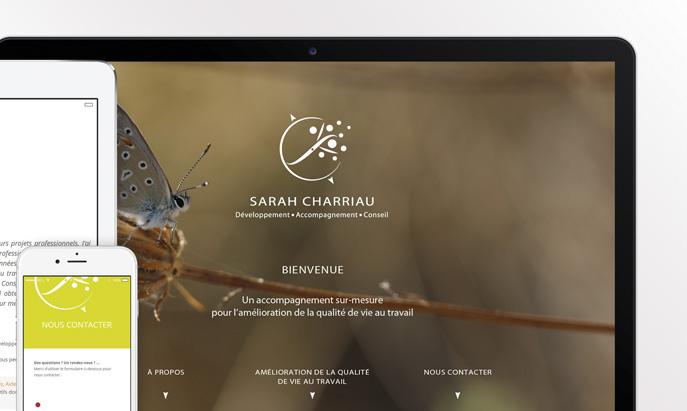 PROJET SITE INTERNET SARAH CHARRIAU